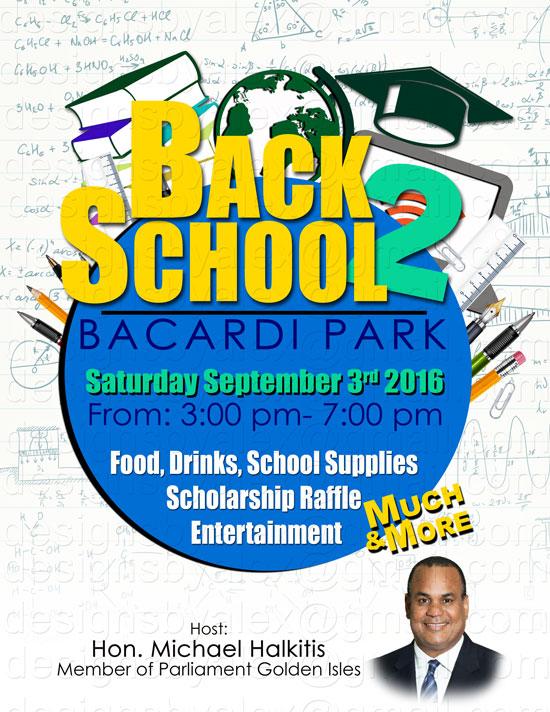 Back 2 School @ Bacardi Park