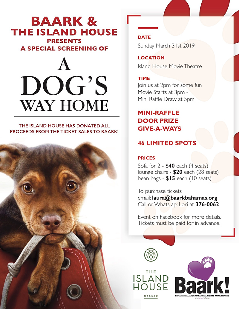 Special Screening for Baark - A Dog's Way Home