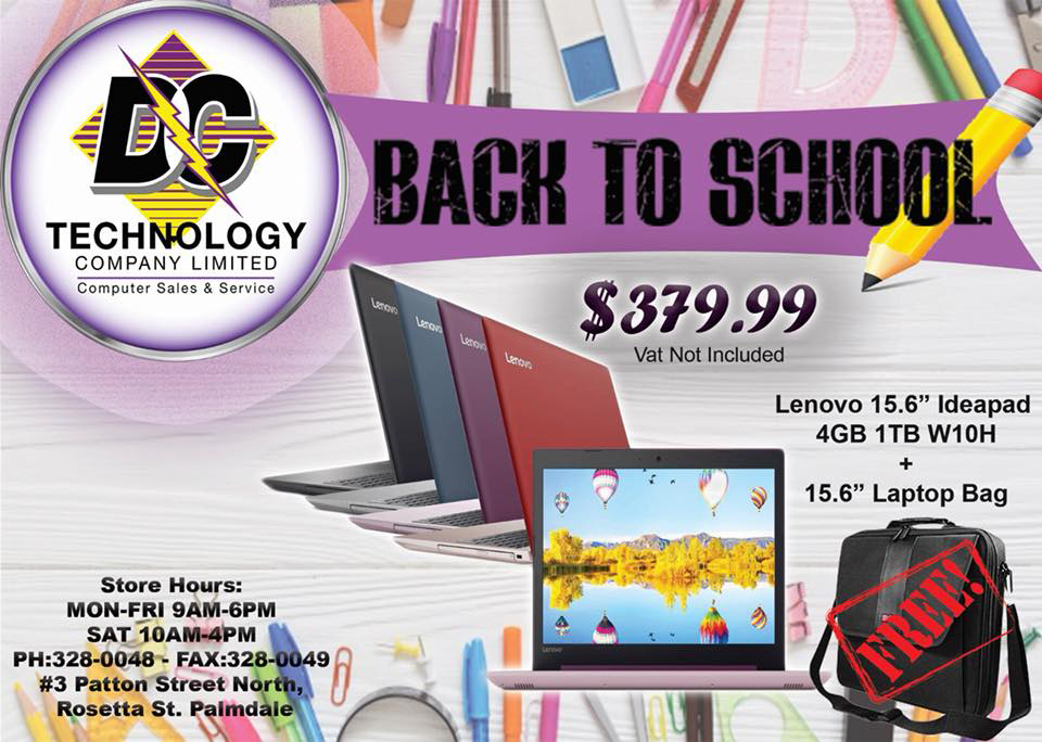 Back To School Bundle at DC Technology