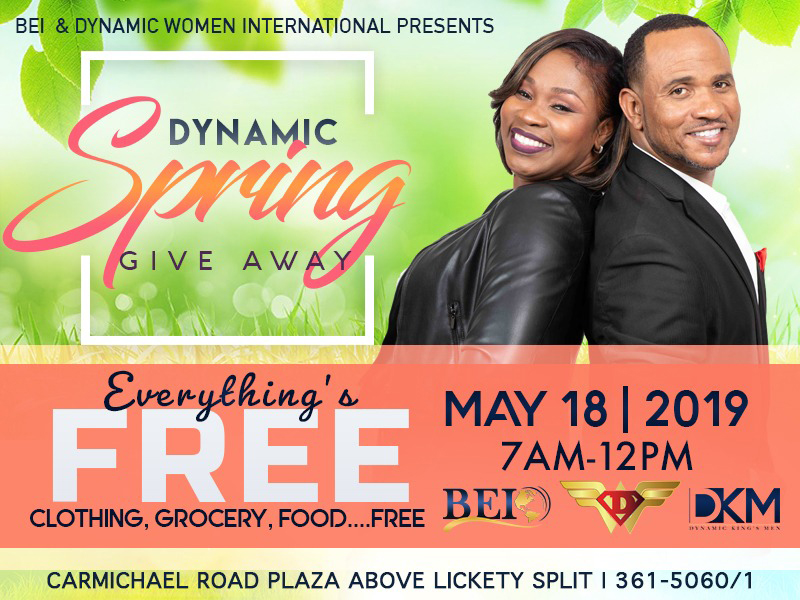 BEI & Dynamic Women International Presents Dynamic Spring Giveaway