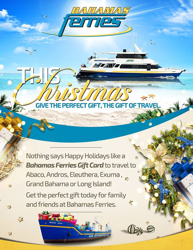 Bahamas Ferries | This Christmas Give The Gift Of Travel