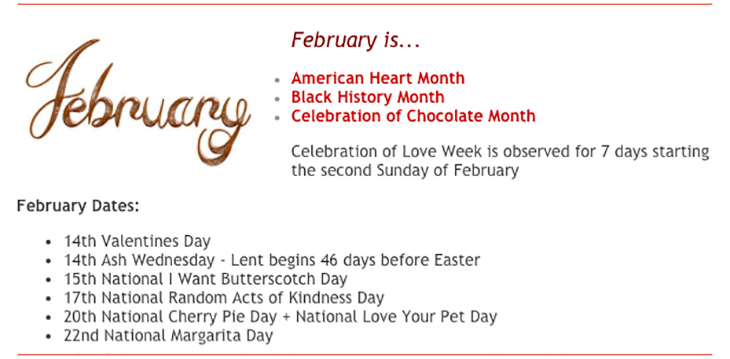 Bahamas Food Services Presents February is...
