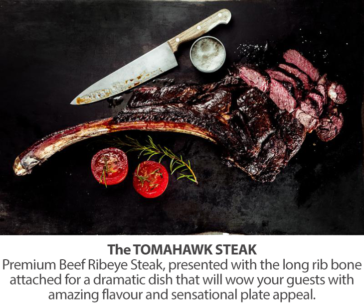 Bahamas Food Services The TOMAHAWK STEAK