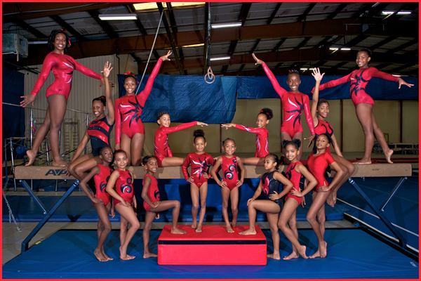 Bahamas Star Gymnastics Team Photo
