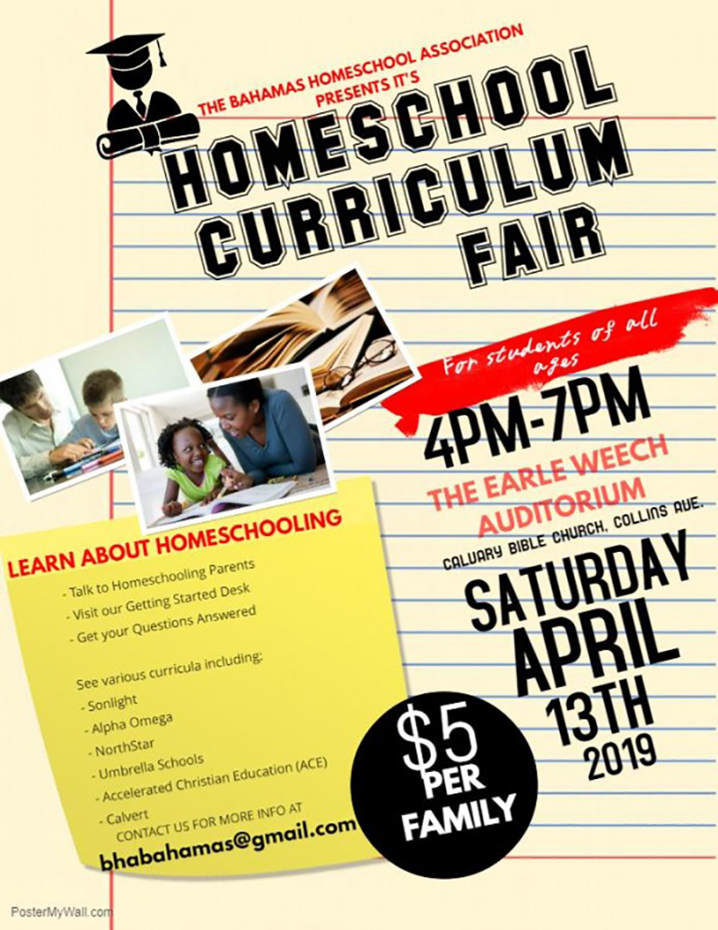 Bahamas Homeschool Association Homeschool Curriculum Fair