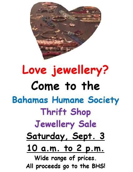 BHS Thrift Shop Jewellery Sale