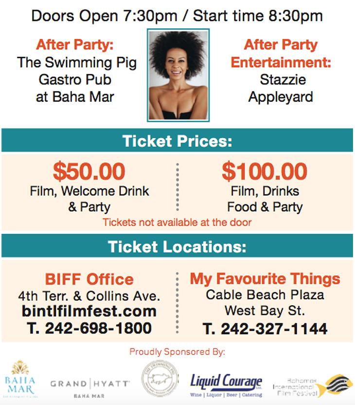 Bahamas International Film 2018 - Closing Night Film Gala - Nassau