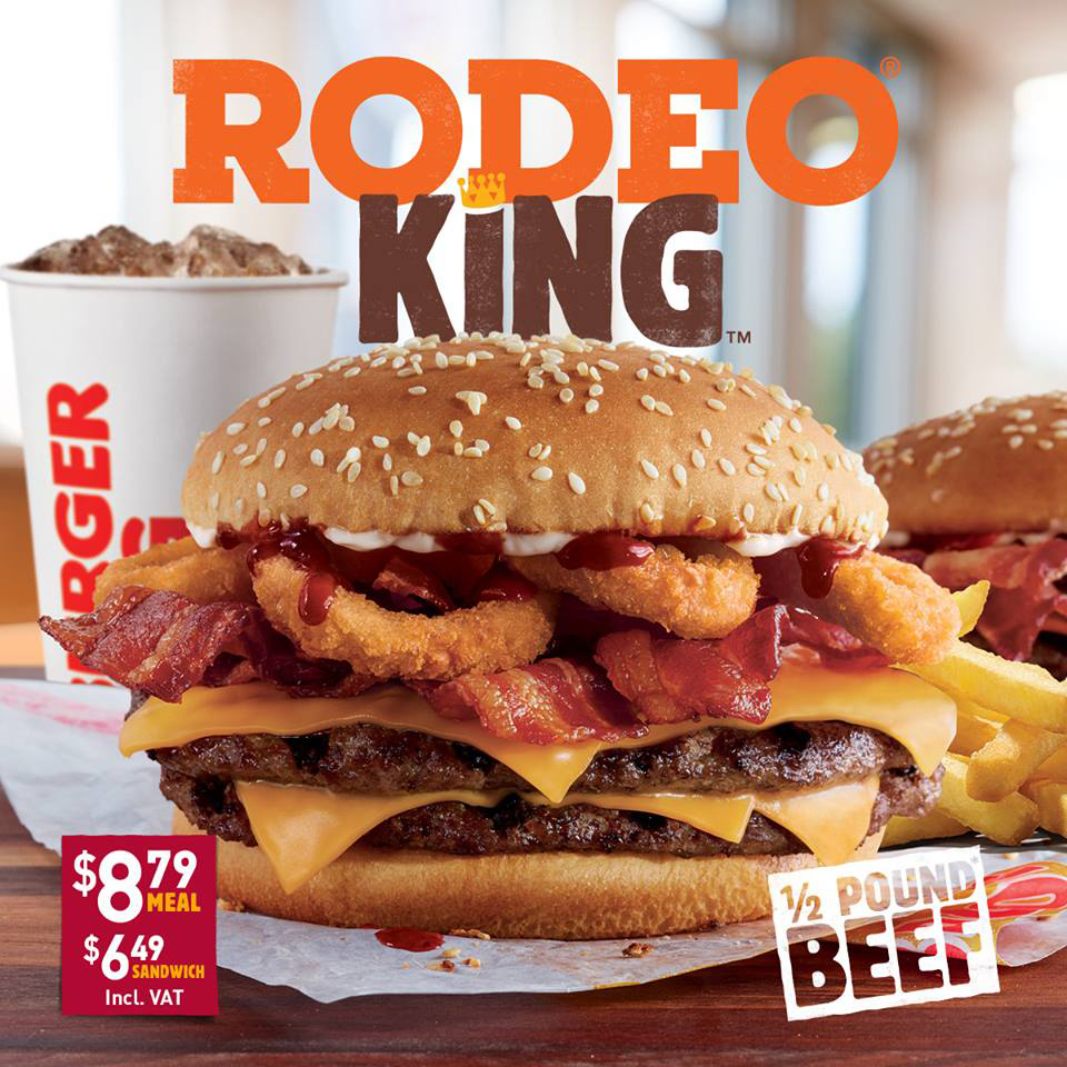 The heart wants what the heart wants and that's a Rodeo King!