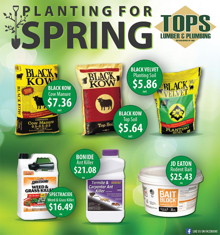 Planting For Spring | Soil at TOPS Lumber