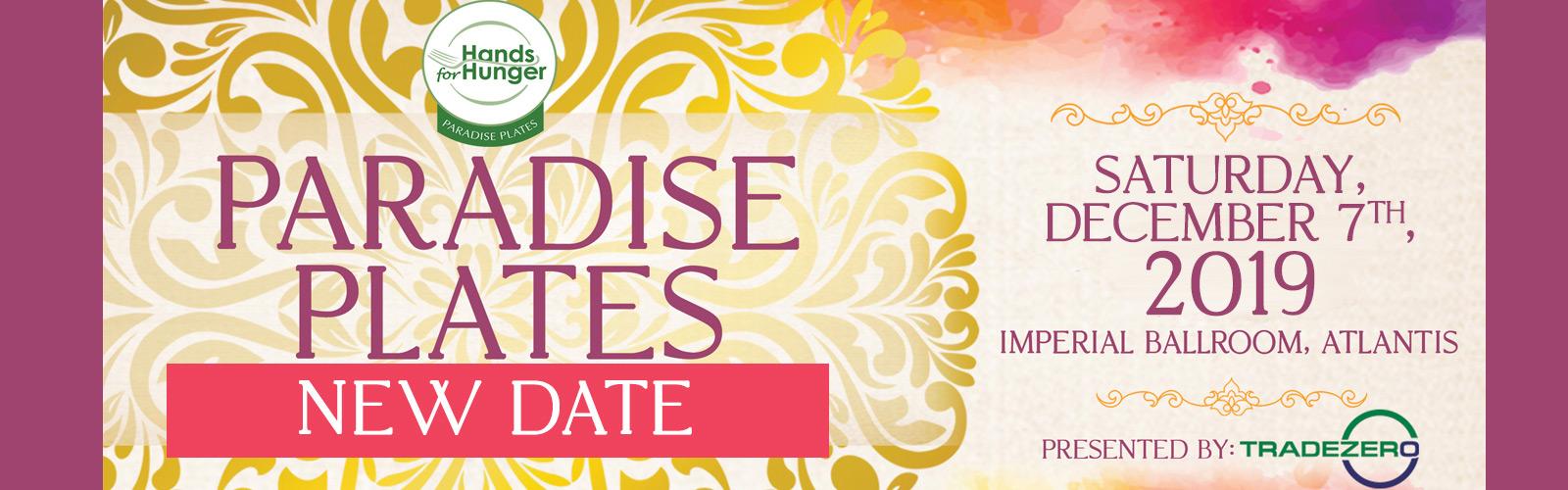 Paradise Plates New Dates