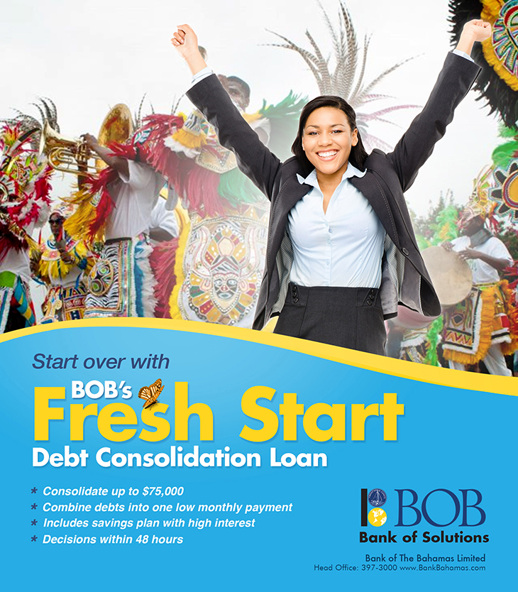 Bank Of The Bahamas Limited | Debt Consolidation Loan