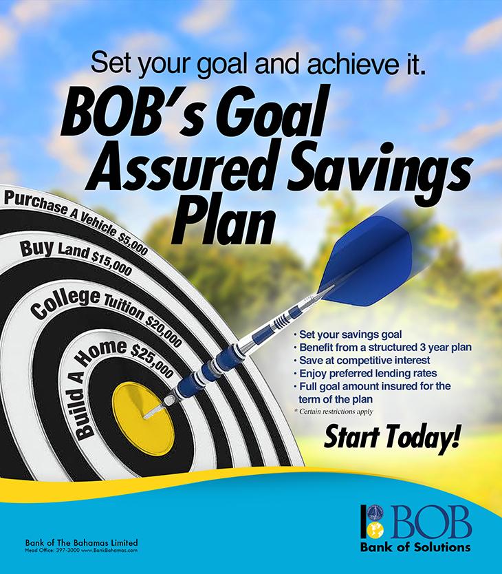 Bank Of The Bahamas Limited Goal Assured Savings Plant