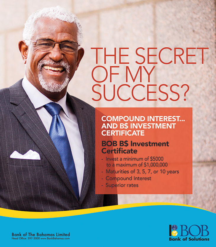 Bank Of The Bahamas Limited! Secret of My Success