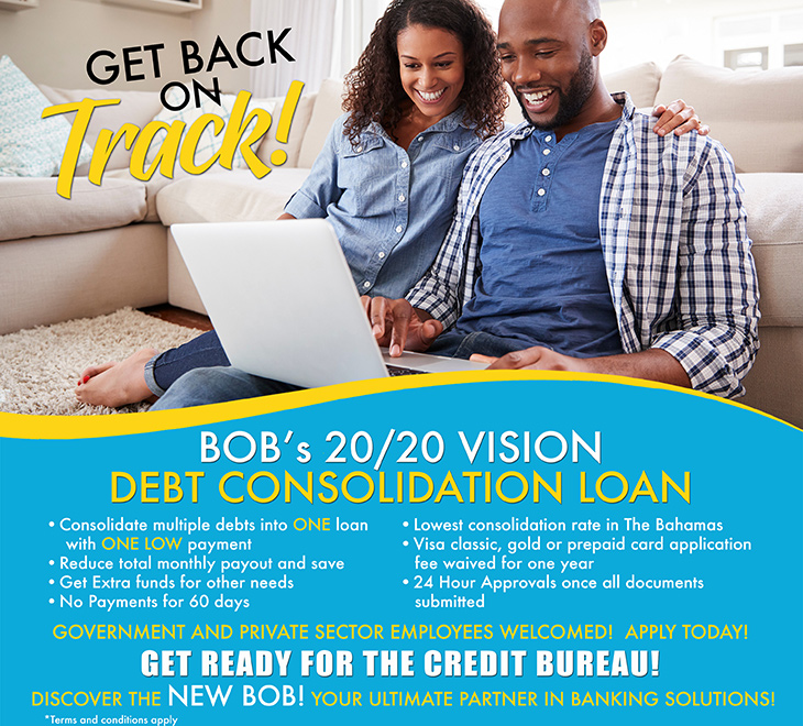 BOB | Vision Debt Consolidation Loan