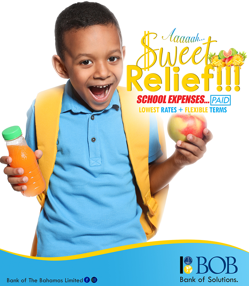School Expenses – PAID With Bank Of The Bahamas