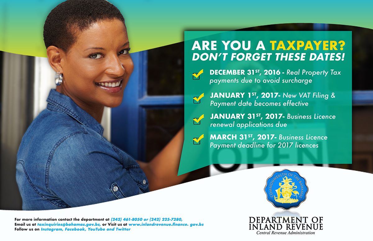 Department of Inland Revenue | Are You A Taxpayer?