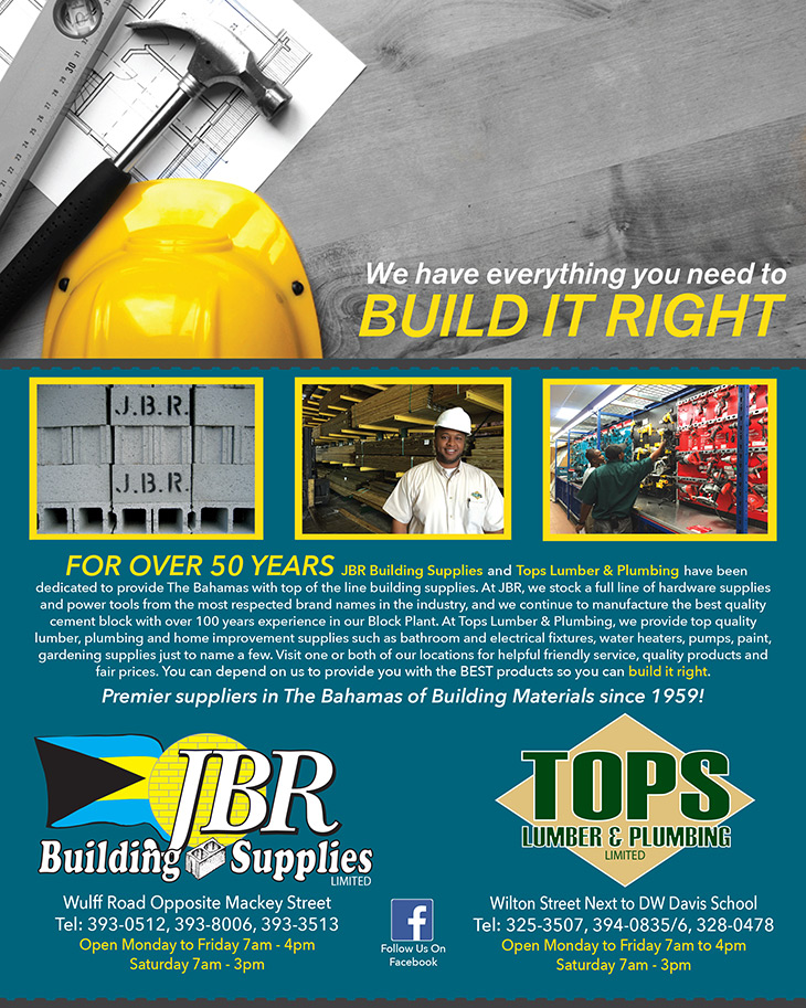 Everything You Need To Build It Right From J B R Building Supplies Ltd and TOPS Lumber