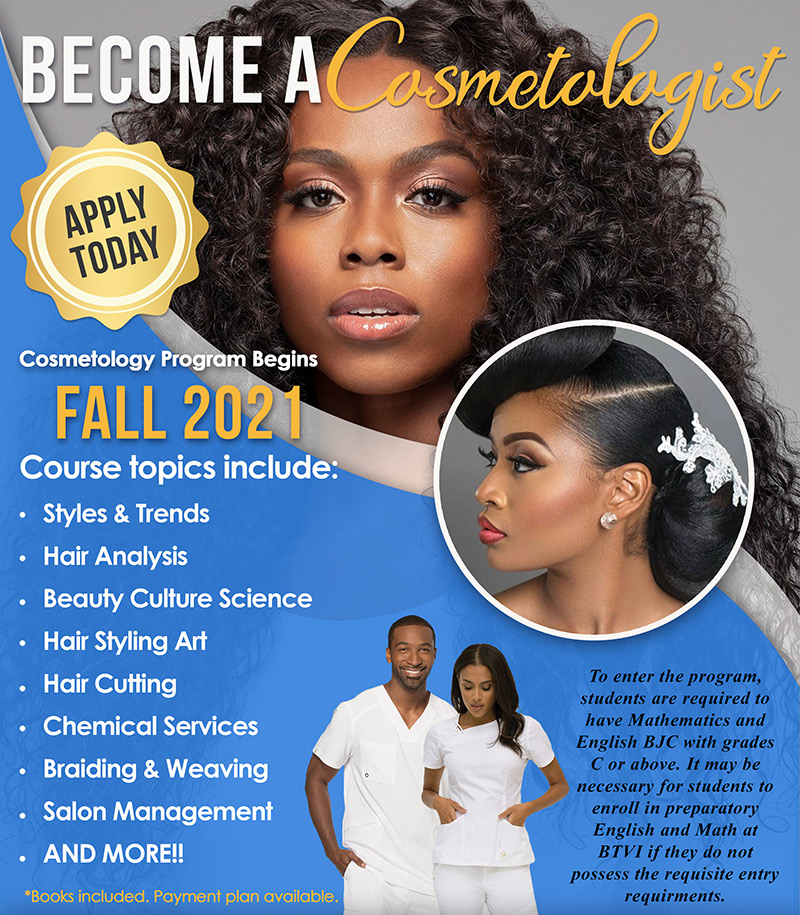 Become A Cosmetologist at Bahamas Technical & Vocational Institute (BTVI)