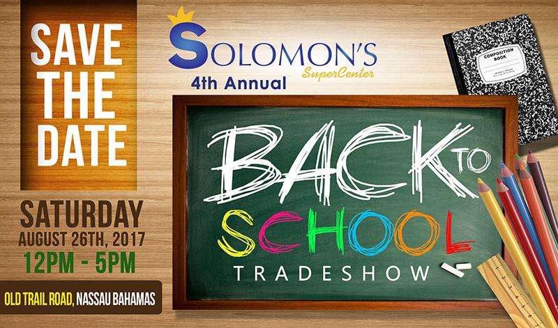 Solomons Back To School!