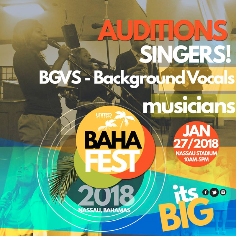 Bahafest | Auditions