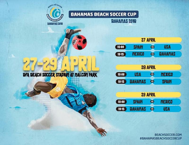 Bahamas Beach Soccer Cup 2018
