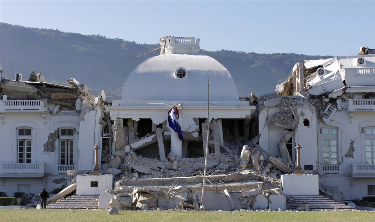 Haiti Presidential Palace Destroyed