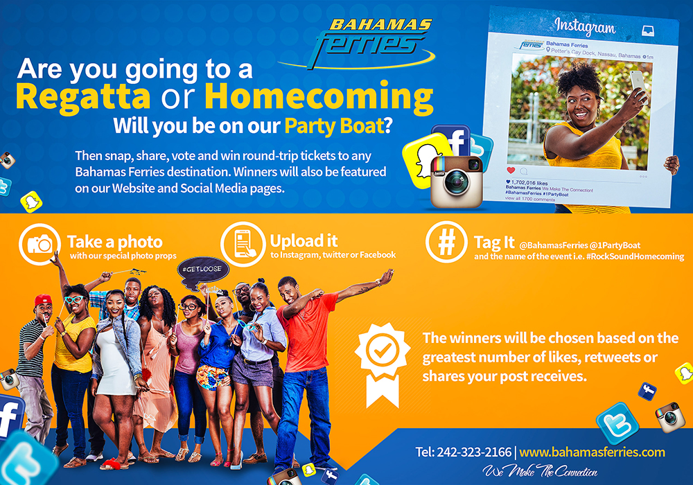 Bahamas Ferries Social Media Campaign