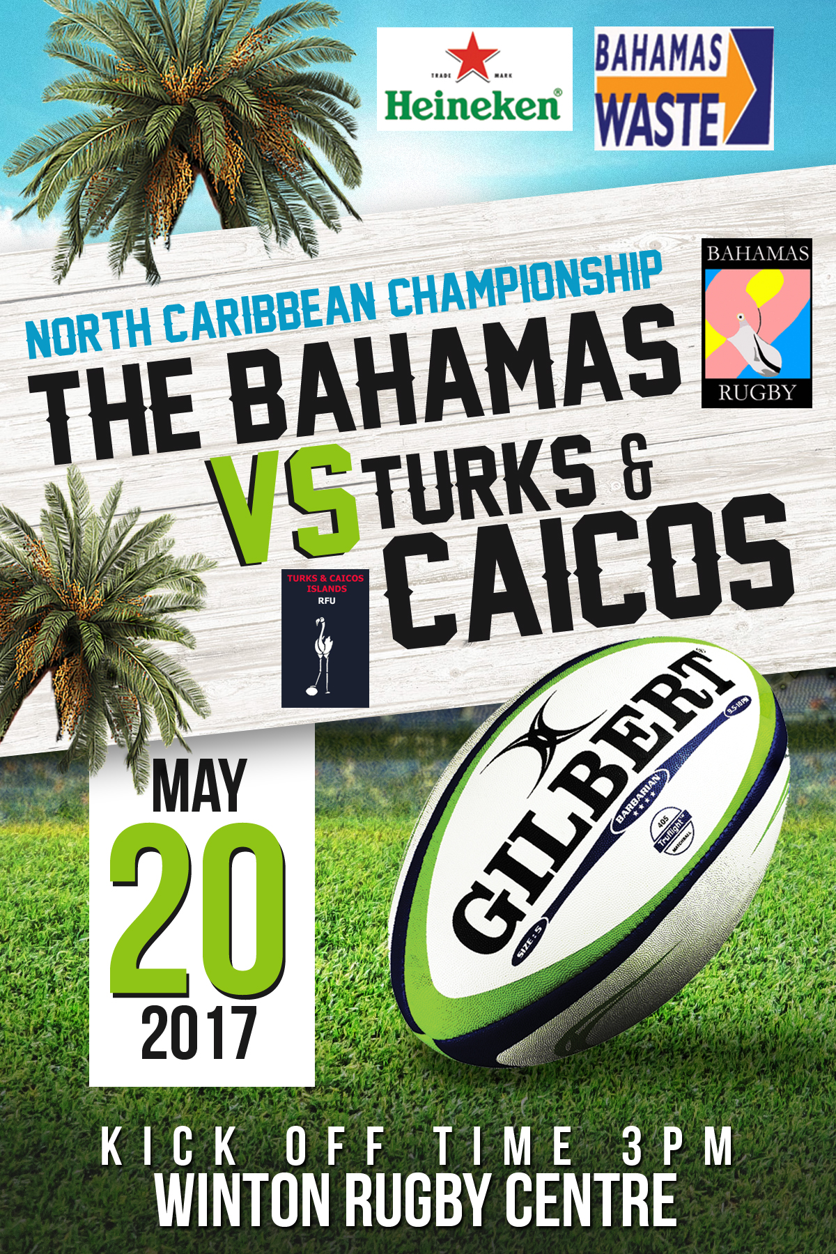 North Caribbean Rugby Championship | Bahamas vs Turks and Caicos