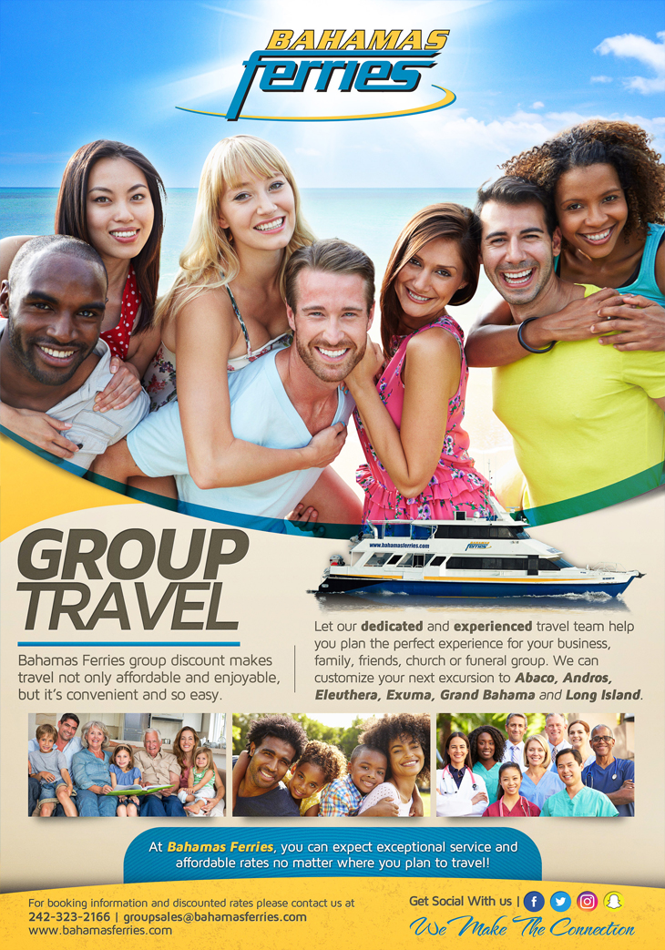 Bahamas Ferries Group Travel