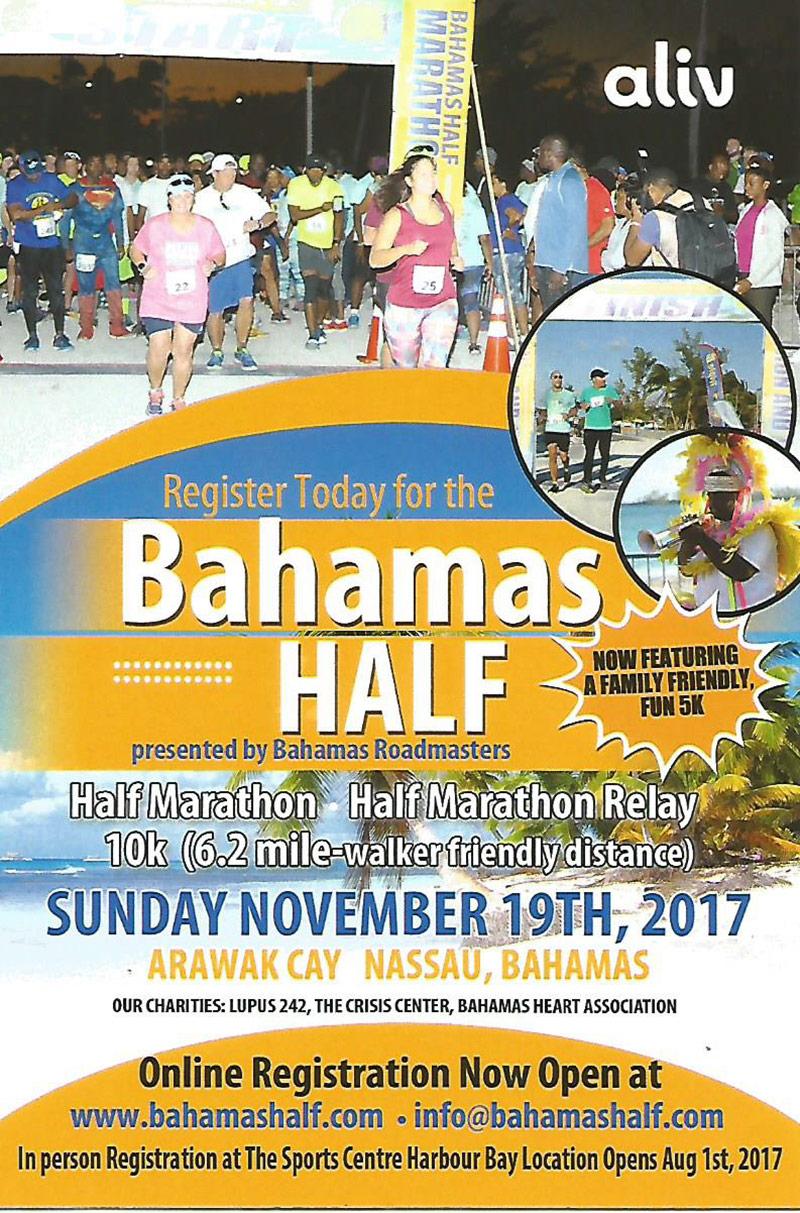 Bahamas Roadmasters 5th annual Bahamas Half Marathon