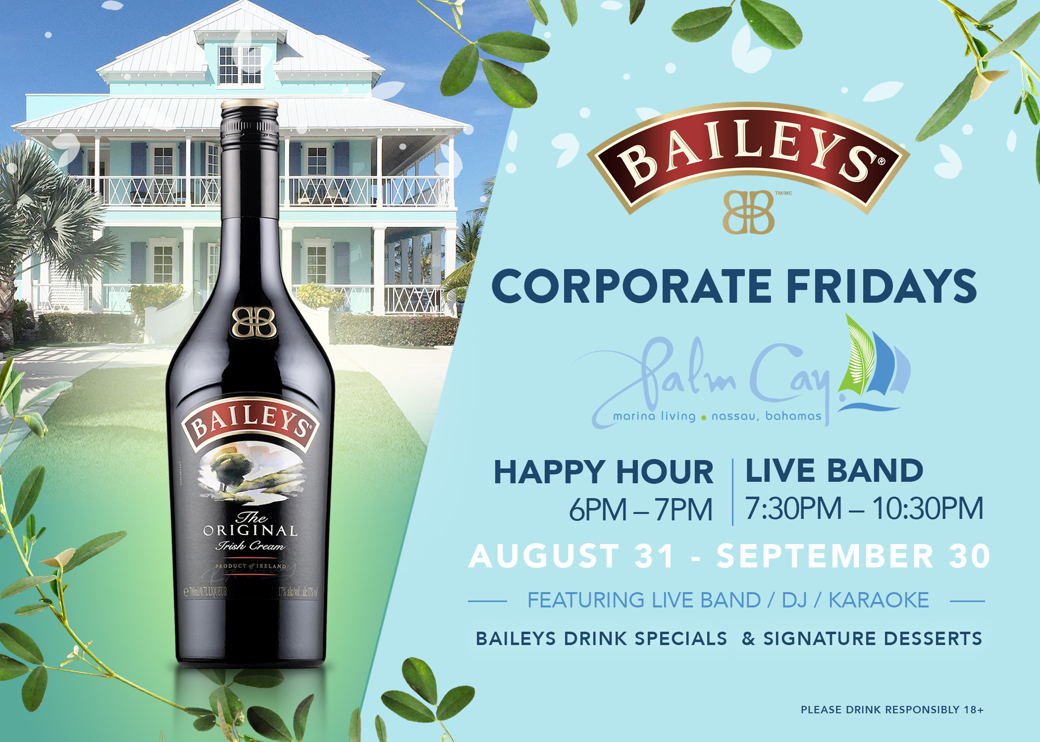 Baileys Corporate Fridays at Palm Cay