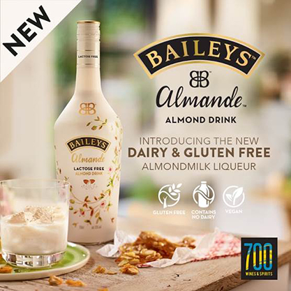 BAILEYS ALMANDE IS NOW AVAILABLE