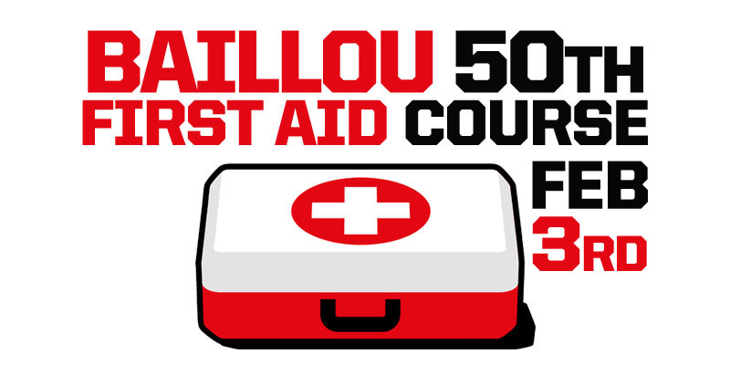Baillou 50th -  First Aid Course