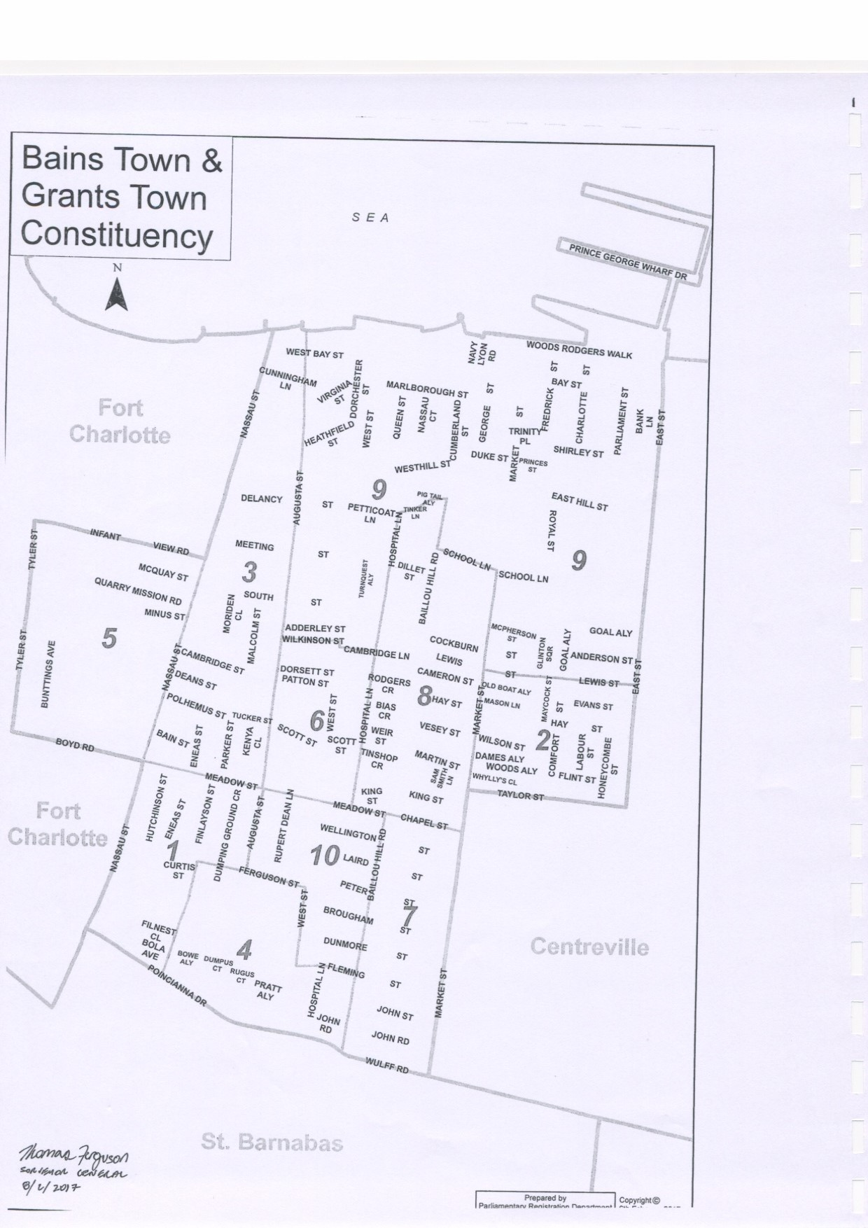 Bain and Grants Town Constituency 2017