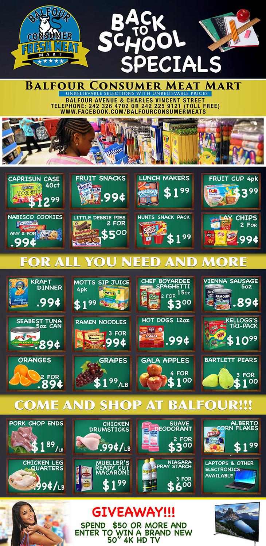 Balfour Consumer Fresh Meat Mart Specials