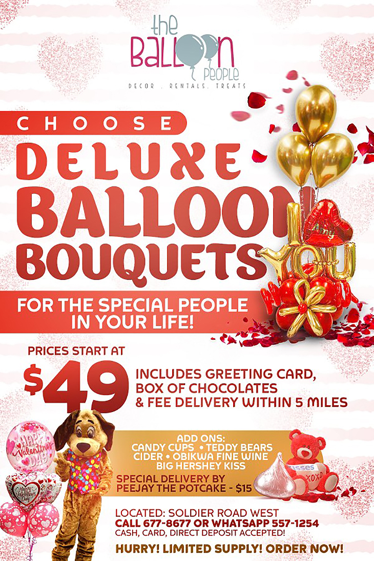 Deluxe Valentine's Balloon Bouquets - The Balloon People