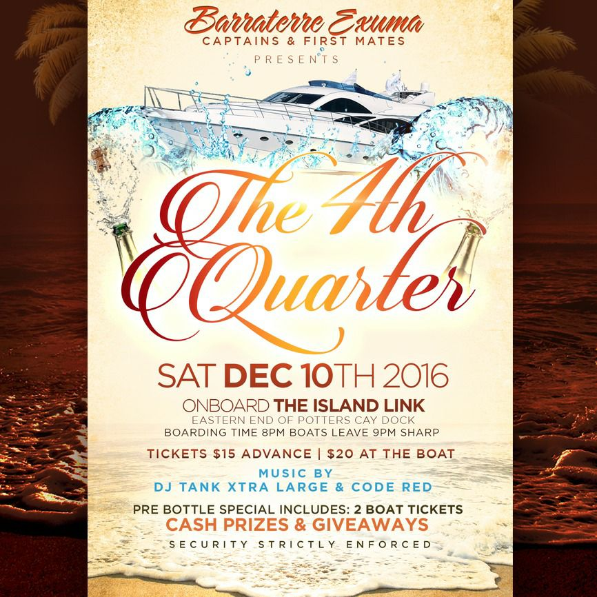 The 4th Quarter Boat Cruise