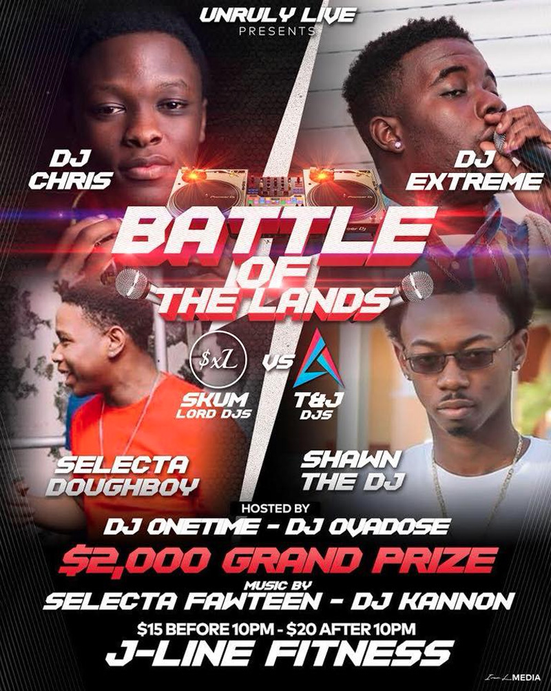 Battle Of The Lands ( SXL VS T&J productions )