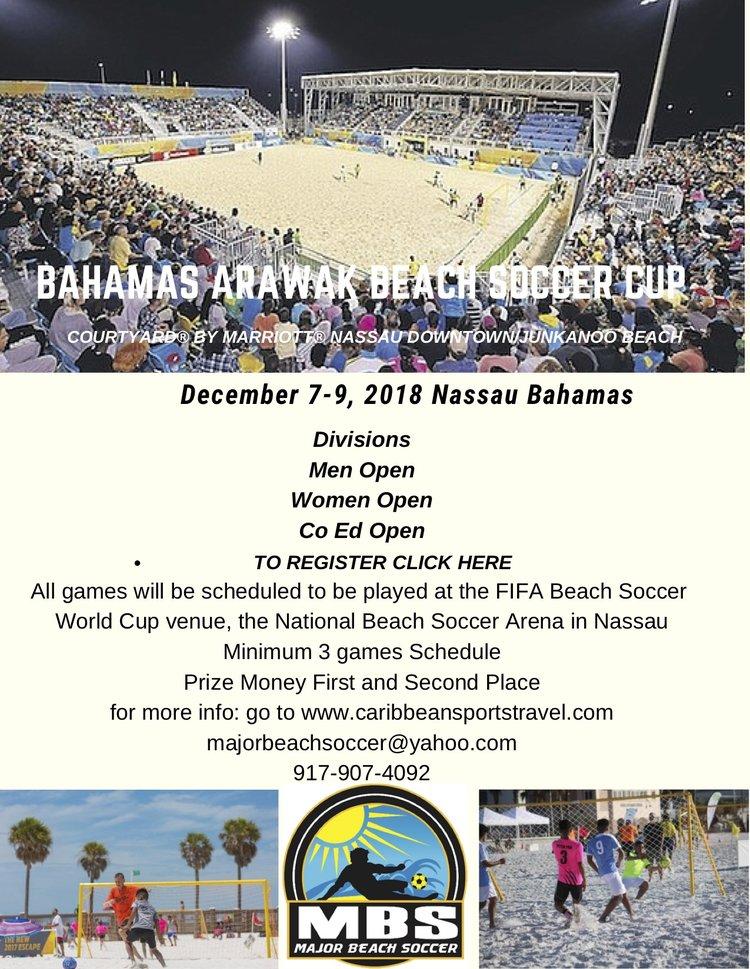 Bahamas Arawak Beach Soccer Cup