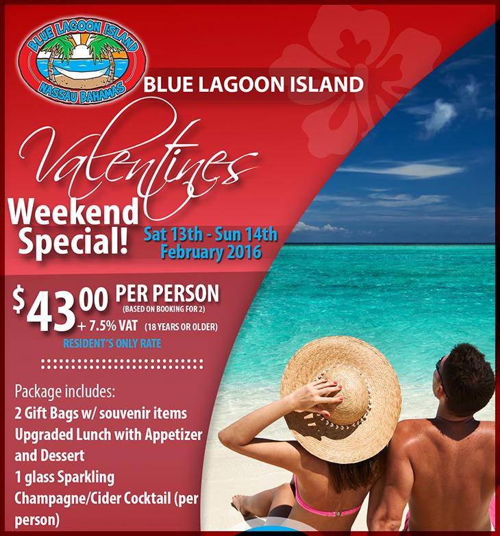 Blue Lagoon Island Valentines Special