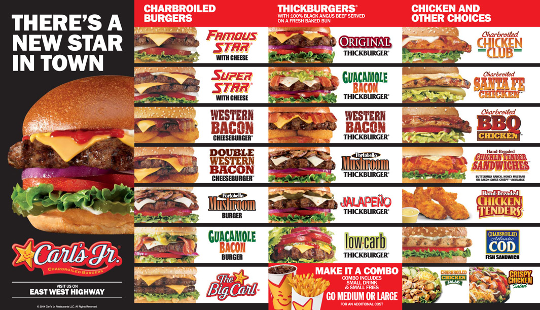 carls jr burger Carl's jr is running a promotion where anyone can get a $499  a california  classic double cheeseburger, fries and a drink for $499.