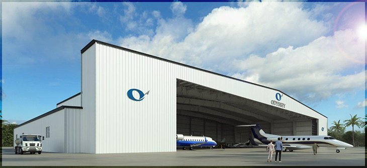 Odyssey Aviation Hanger and Ramp Expansion