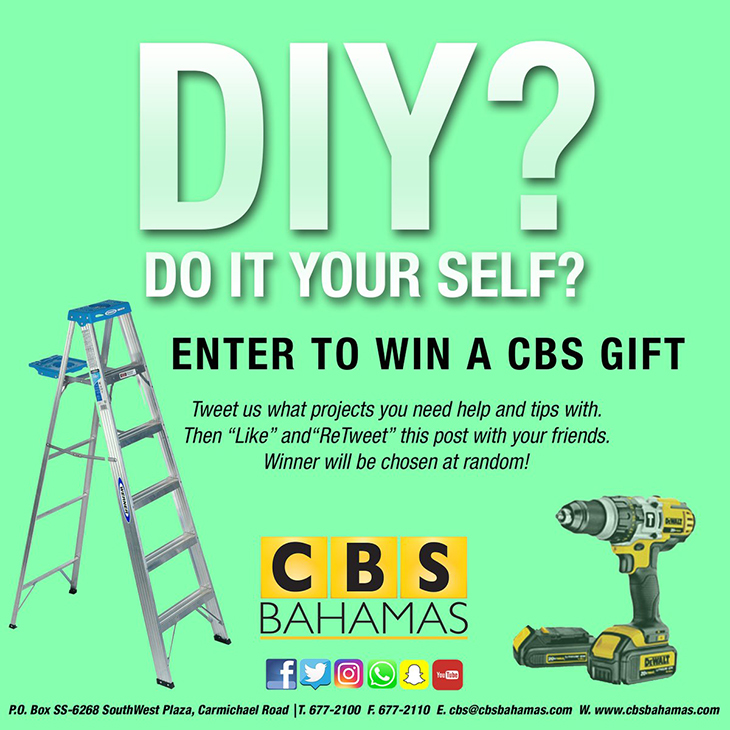 DIY | Do It Yourself And Enter To Win A CBS Bahamas Gift!