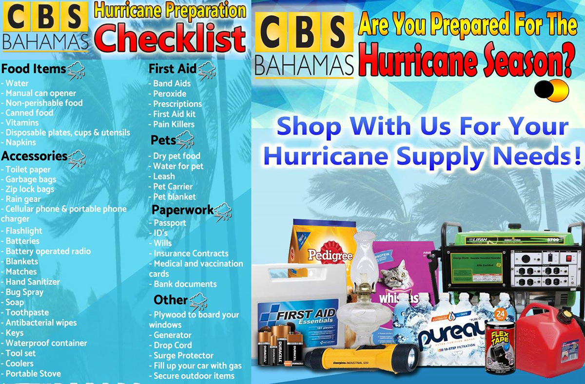 Hurricane at CBS Bahamas!