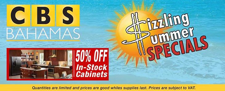 CBS Bahamas Sizzling Summer Specials
