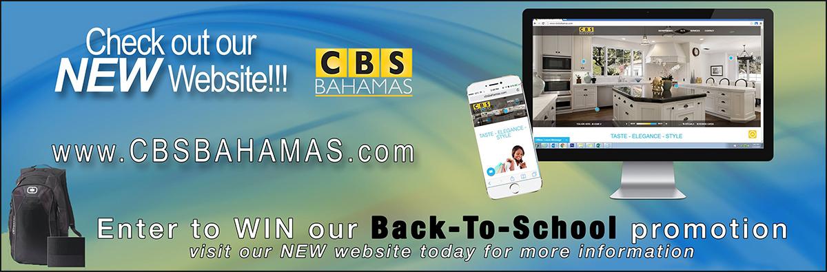 CBS Bahamas Back-To-School promotion