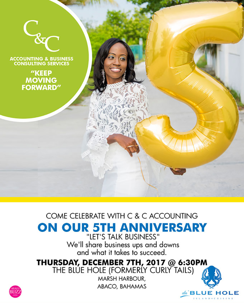 Come Celebrate with C&C Accounting on their 5th Anniversary