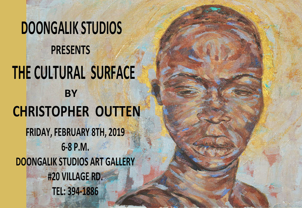 THE CULTURAL SURFACE – NEW ART WORKS BY CHRISTOPHER OUTTEN