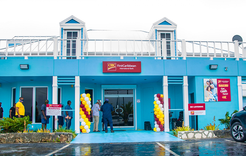 CIBC FirstCaribbean's Abaco team is excited to welcome clients and customers to its brand new No. 1 Don Mackey Boulevard branch which features two Automated Teller Machines, for additional convenience.