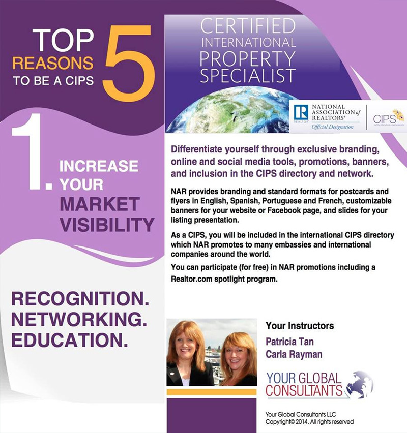 CIPS - Certified International Property Specialist Hosted by Bahamas Real Estate Association